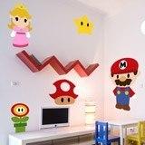 Stickers pour enfants: Kit Mario Bros 3