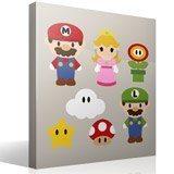 Stickers pour enfants: Kit Mario Bros 4
