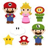 Stickers pour enfants: Kit Mario Bros 6