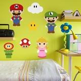 Stickers pour enfants: Kit Mario Bros 7