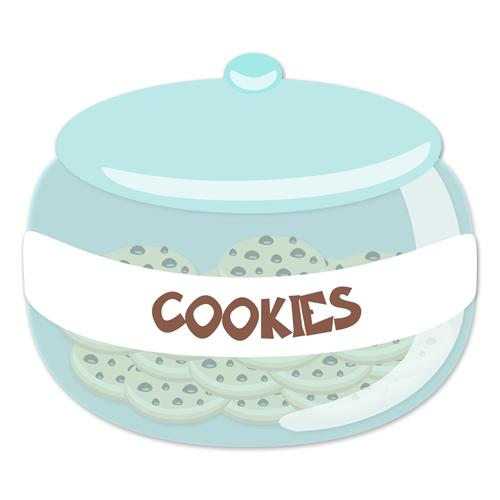 Stickers pour enfants: Cookie jar