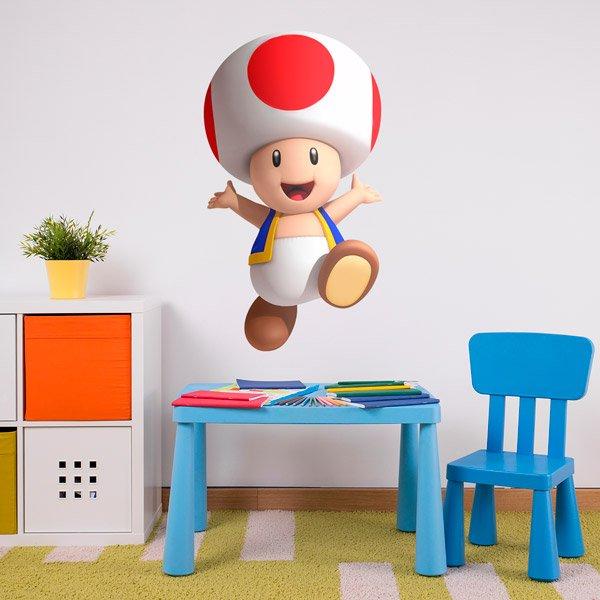 Stickers pour enfants: Toad