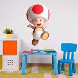 Stickers pour enfants: Toad 3