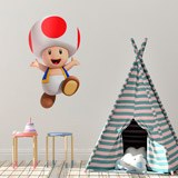Stickers pour enfants: Toad 4