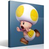 Stickers pour enfants: Toad jaune 4