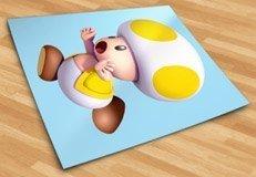 Stickers pour enfants: Toad jaune 5