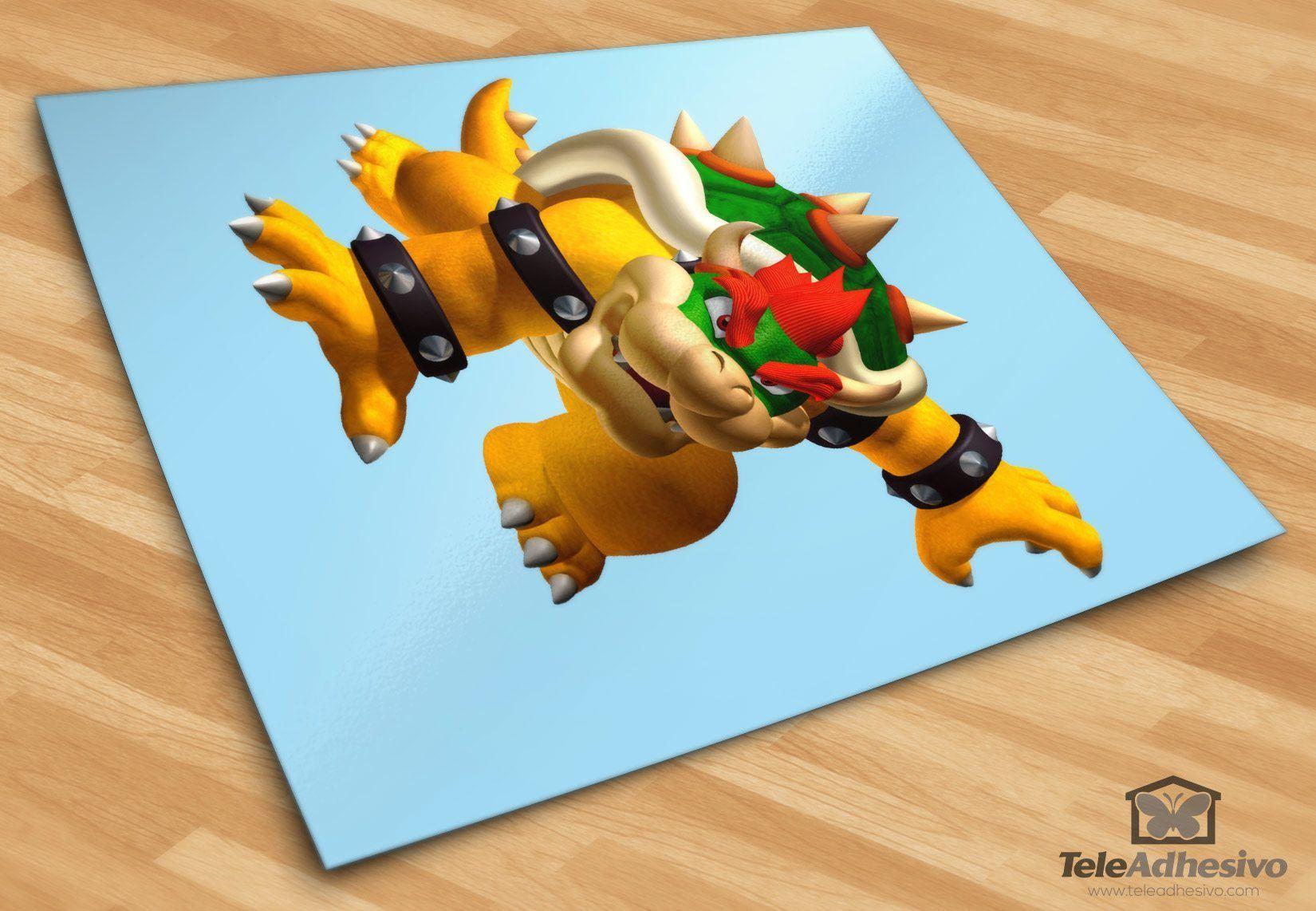 Stickers pour enfants: Bowser