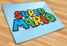 Stickers pour enfants: Super Mario Game 5