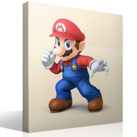 Stickers pour enfants: Super Mario poing