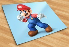 Stickers pour enfants: Super Mario poing 5