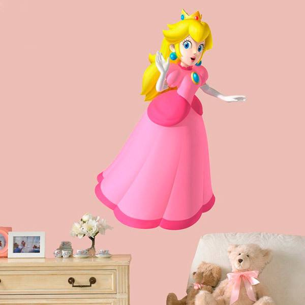 Stickers pour enfants: Princess Peach