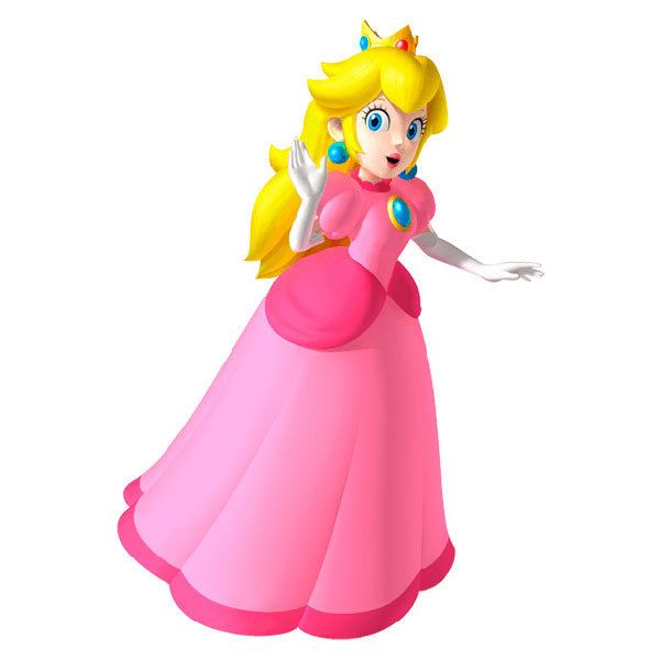 Stickers pour enfants: Princess Peach 2