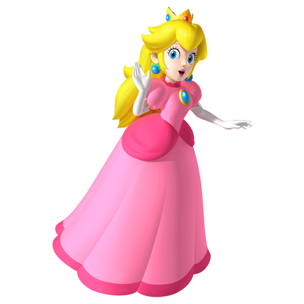 Stickers pour enfants: Princess Peach 2 0
