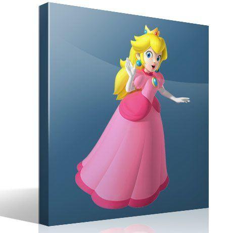 Stickers pour enfants: Princess Peach 2