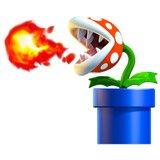 Stickers pour enfants: Usine de Piranha crache du feu 6