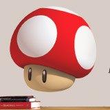 Stickers pour enfants: Mario mushroom 3
