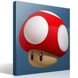 Stickers pour enfants: Mario mushroom 4