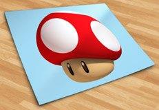 Stickers pour enfants: Mario mushroom 5