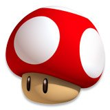 Stickers pour enfants: Mario mushroom 6