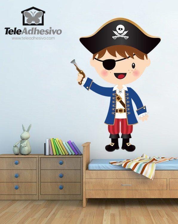 Stickers pour enfants: Le petit pistolet de pirate