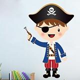 Stickers pour enfants: Le petit pistolet de pirate 3