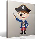 Stickers pour enfants: Le petit pistolet de pirate 4