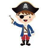 Stickers pour enfants: Le petit pistolet de pirate 6