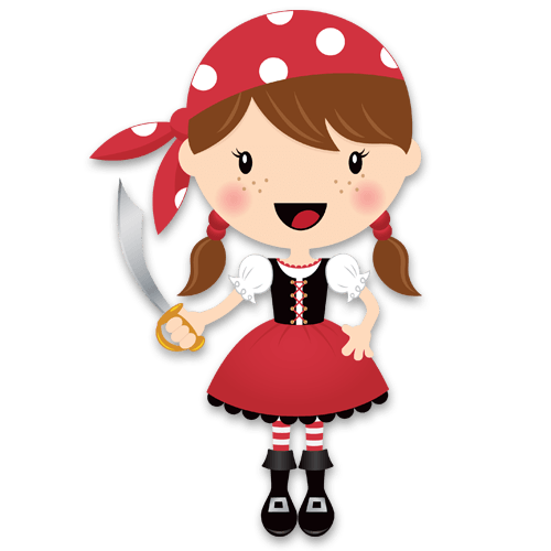 Stickers pour enfants: La petite épée de corsaire