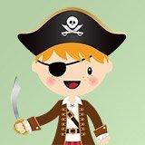Stickers pour enfants: Le petit épée de pirate 3