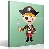 Stickers pour enfants: Le petit épée de pirate 4