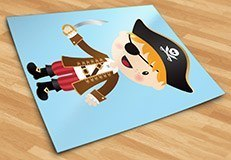 Stickers pour enfants: Le petit épée de pirate 5