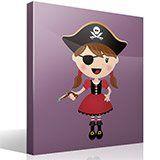 Stickers pour enfants: La petite pistolet de pirate 4