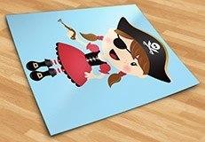 Stickers pour enfants: La petite pistolet de pirate 5