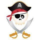 Stickers pour enfants: Le crâne de pirate pour enfants 6