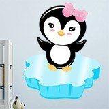 Stickers pour enfants: Penguin glace 3