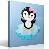 Stickers pour enfants: Penguin glace 4