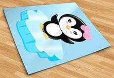 Stickers pour enfants: Penguin glace 5