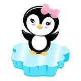 Stickers pour enfants: Penguin glace 6