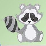 Stickers pour enfants: la forêt de Raccoon 3