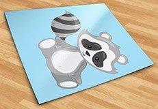 Stickers pour enfants: la forêt de Raccoon 5
