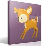 Stickers pour enfants: forêt cerf 4