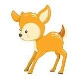 Stickers pour enfants: forêt cerf 6