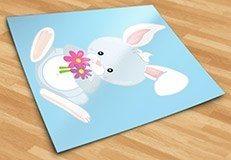 Stickers pour enfants: forêt lapin 5