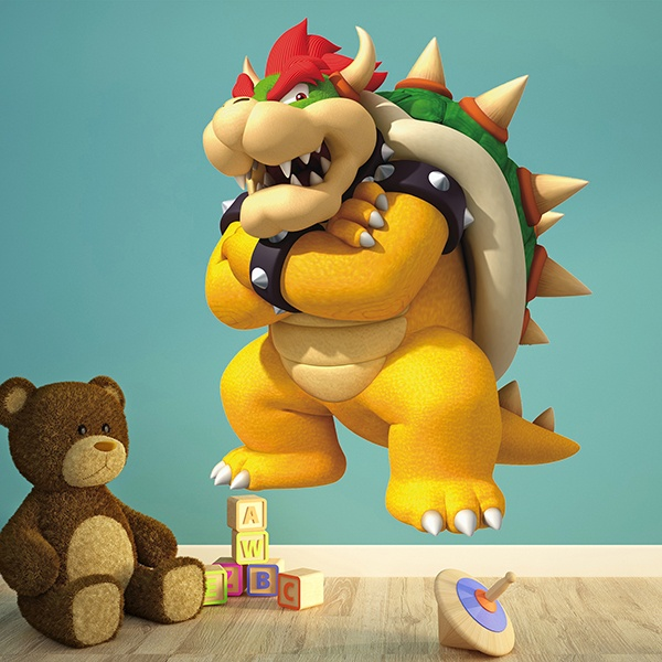 Stickers pour enfants: King Bowser