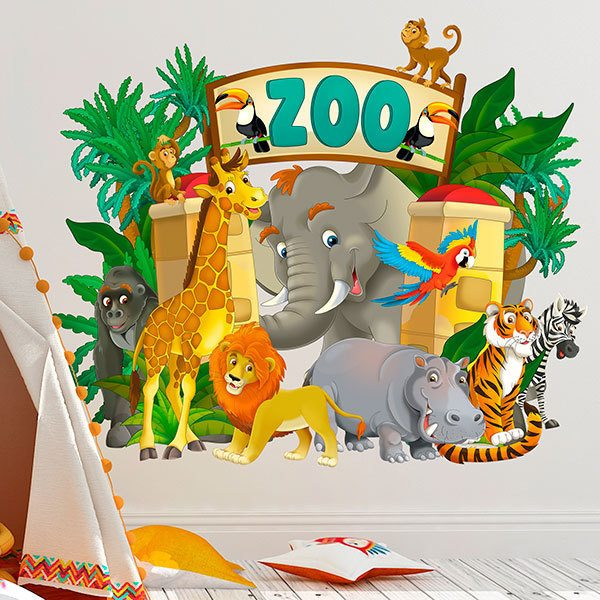 Stickers pour enfants: Zoo Adventure 1