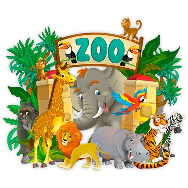 Stickers pour enfants: Zoo Adventure