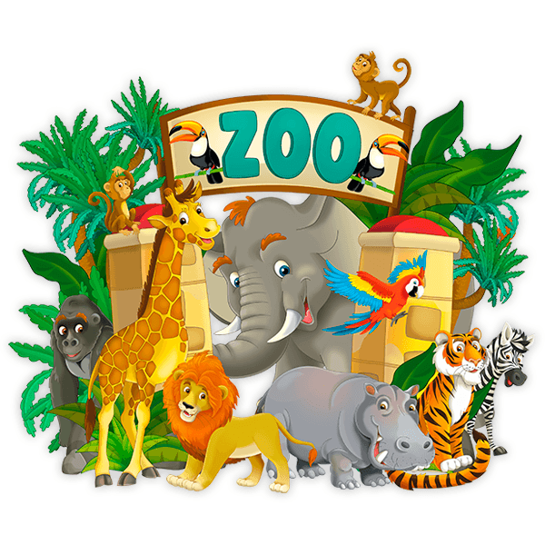 Stickers pour enfants: Zoo Adventure 0