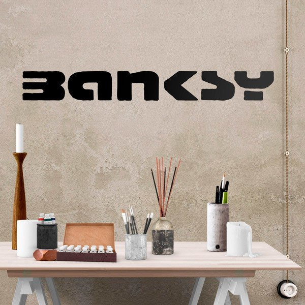 Stickers muraux: Banksy, Paroles