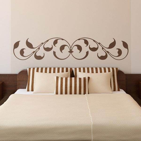 sticker mural t te de lit montreal. Black Bedroom Furniture Sets. Home Design Ideas
