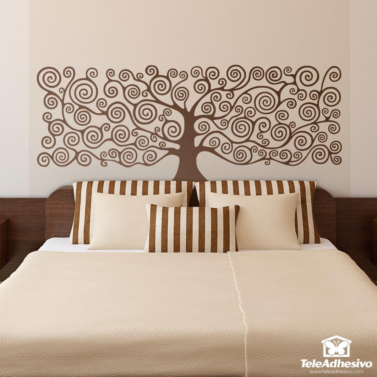 Klimt L Arbre De Vie Tableau tête de lit adhésive arbre de vie de klimt